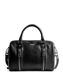Zadig & Voltaire - Sunny Medium Leather Bowling Bag