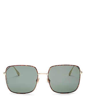 Dior Women\\\'s Stellaire Oversized Square Sunglasses, 59mm-Jewelry & Accessories