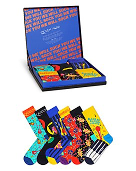 Happy Socks - Queen Crew Socks Gift Box - Pack of 6