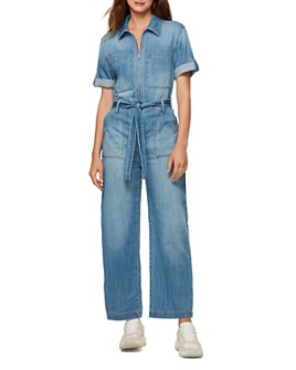 Sanctuary - Utility Jean Jumpsuit in Shallows