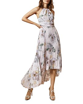 Ted Baker - Daniiey Woodland Pleated Maxi Dress