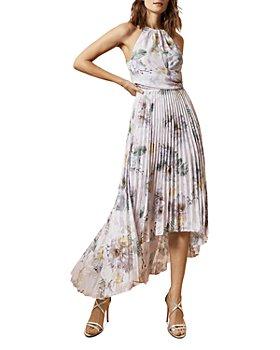 Ted Baker - Daniiey Woodland Pleated Maxi Dress