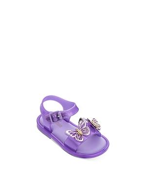 Mini Melissa Girls\\\' Butterfly Sandals - Walker, Toddler