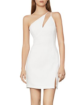 BCBGMAXAZRIA - One-Shoulder Cocktail Dress