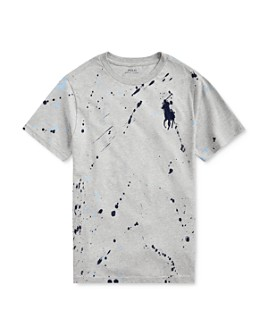 Ralph Lauren - Boys' Splatter Paint Tee - Big Kid