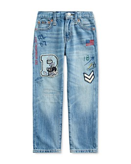 Ralph Lauren - Boys' Cotton Patch Sullivan Slim Jeans - Big Kid