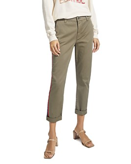Current/Elliott - The Side Stripe Confident Ankle Pants