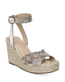 Via Spiga - Women's Sesilia Strappy Espadrille Wedge Sandals