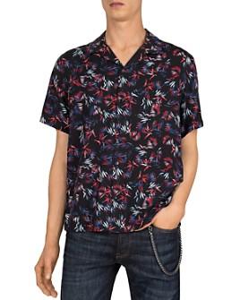 The Kooples - Funny Leaves Printed Shirt