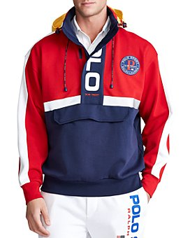 Polo Ralph Lauren - Polo Sport Color-Block Hybrid Hoodie