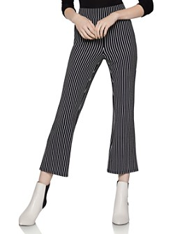 BCBGENERATION - Striped Flared Pants
