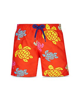 Vilebrequin - Boys' Turtle Print Swim Trunks - Little Kid, Big Kid