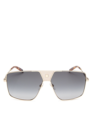 Givenchy Men\\\'s Flat Top Square Sunglasses, 63mm