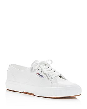 Superga - Women's Leather Low-Top Sneakers