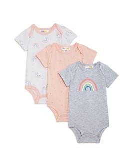 Bloomie's - Girls' Rainbow Bodysuits, Baby - 100% Exclusive
