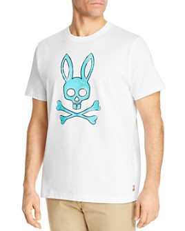 Psycho Bunny - Sherwood Cotton Logo Graphic Tee