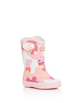 Hunter - Unisex Peppa Pig Rain Boots - Walker, Toddler