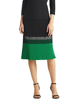 Ralph Lauren - Color-Block Skirt