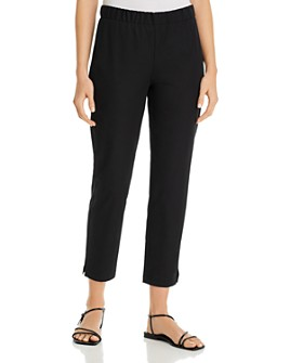 Eileen Fisher Petites - Petites Tapered Ankle Pants