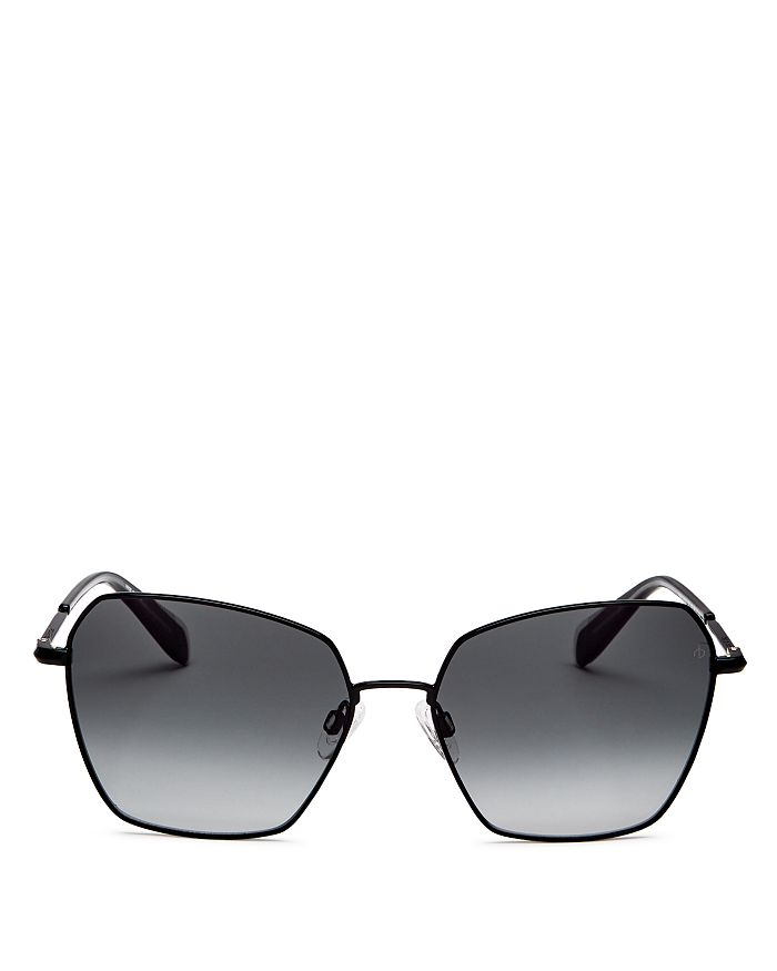 rag & bone - Women's Geometric Square Sunglasses, 58mm