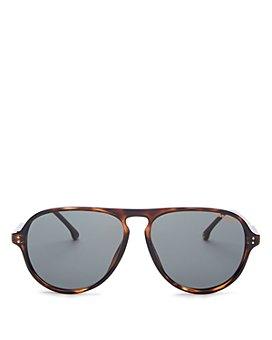 Carrera - Men's Polarized Brow Bar Aviator Sunglasses, 67mm