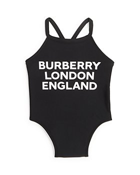 Burberry - Girls' Logo Swimsuit - Baby