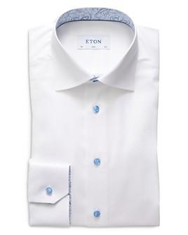 Eton - Solid Slim Fit Dress Shirt