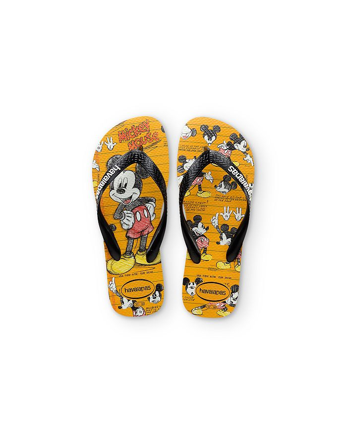havaianas - Girls' Disney Mickey Mouse Flip Flops - Toddler, Little Kid