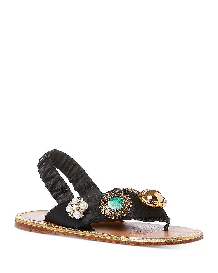 Miu Miu - Women's Embellished Sandals
