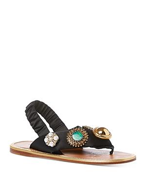 Miu Miu Women's Embellished Sandals
