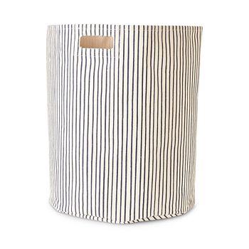 Pehr - Stripes Away Cotton Canvas Storage Hamper