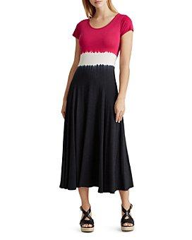 Ralph Lauren - Tie-Dye Midi Dress