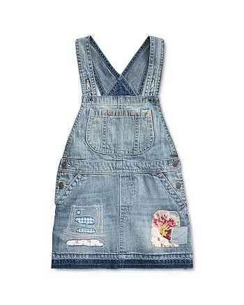 Ralph Lauren - Girls' Overall Dress - Little Kid