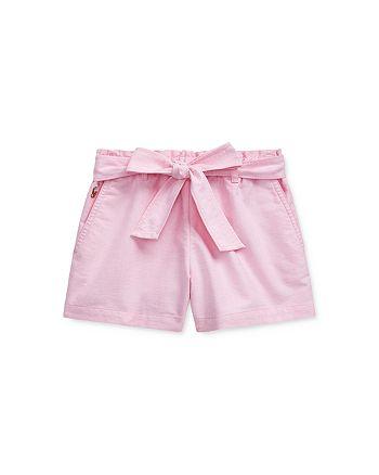 Ralph Lauren - Girls' Oxford Shorts - Little Kid