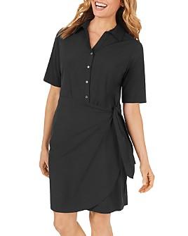 Foxcroft - Panama Solid Shirtdress