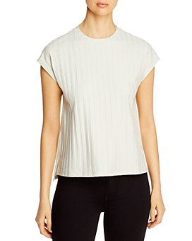 Eileen Fisher - Ribbed Crewneck Top