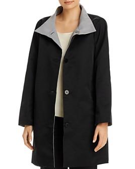 Eileen Fisher - Stand Collar Coat - 100% Exclusive