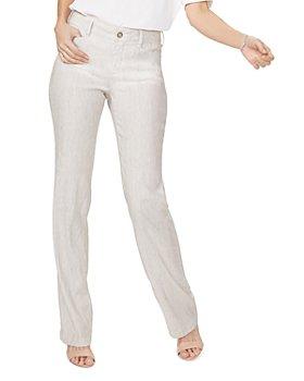NYDJ - Petites Stretch Linen Trousers