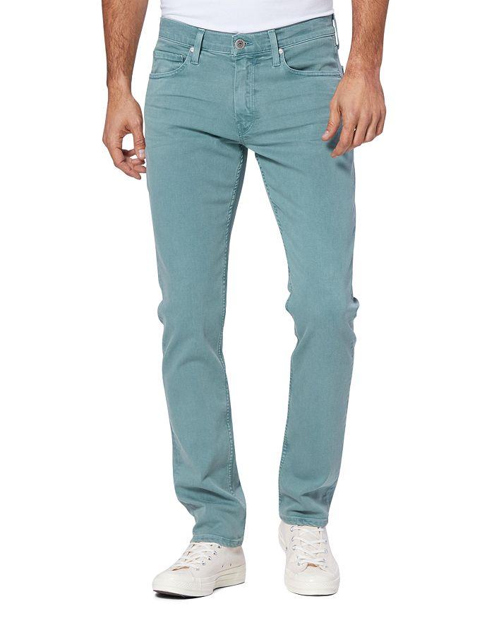 PAIGE - Lennox Slim Fit Jeans in Vintage Rain Water
