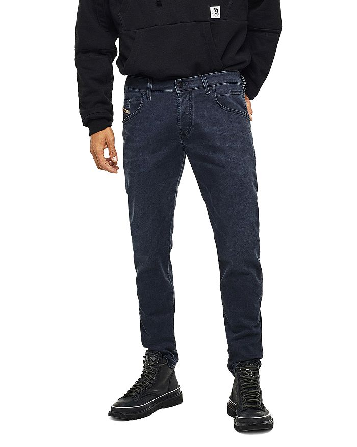 Diesel - Straight Fit Jeans in Gray