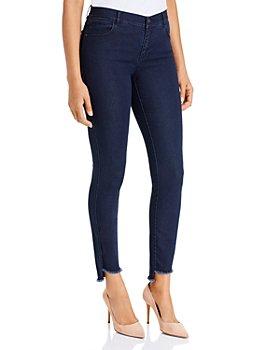 Lafayette 148 New York - Mercer Step-Hem Ankle Jeans in Indigo