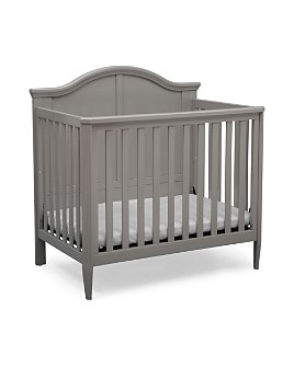 Bloomingdale's - Kids Skyler Mini Convertible Baby Crib with Mattress and Sheets