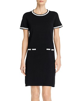 KARL LAGERFELD PARIS - Short-Sleeve Sweater Dress