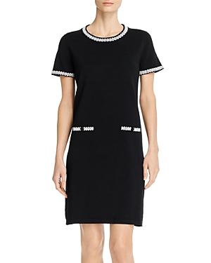 Karl Lagerfeld Paris Short-Sleeve Sweater Dress-Women