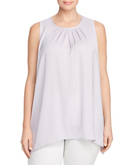 MICHAEL Michael Kors Plus - Handkerchief-Hem Top