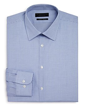 The Men's Store at Bloomingdale's - Shadow Grid Stretch Slim Fit Dress Shirt - 100% Exclusive