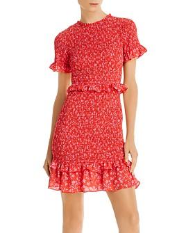 LIKELY - Faye Ruffled Smock Dress