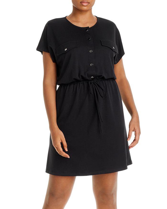 AQUA Curve - Knit Utility Dress - 100% Exclusive