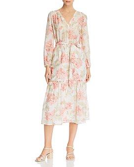 Rebecca Taylor - Floral Print Midi Dress