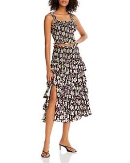 Cinq à Sept - Ruffled Top & Skirt